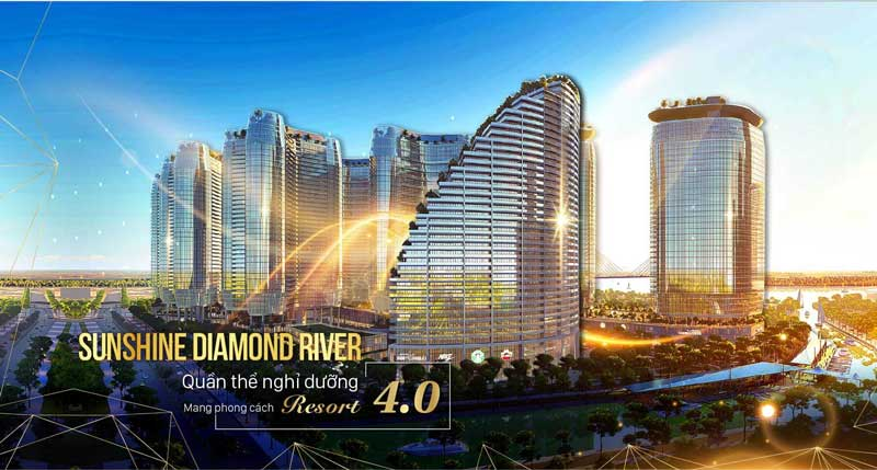 phoi canh du an sunshine diamond river